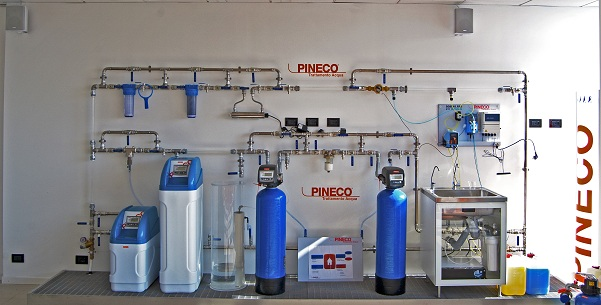 Corsi installatori pineco for Pineco trattamento acqua